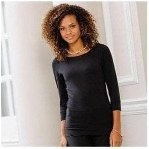 Russell Collection Women's 3/4 sleeve stretch top