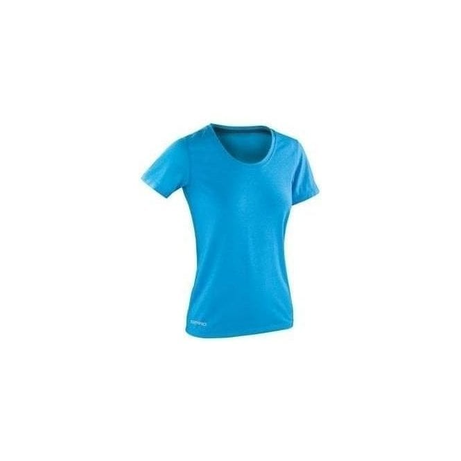 Spiro Women's fitness shiny marl t-shirt