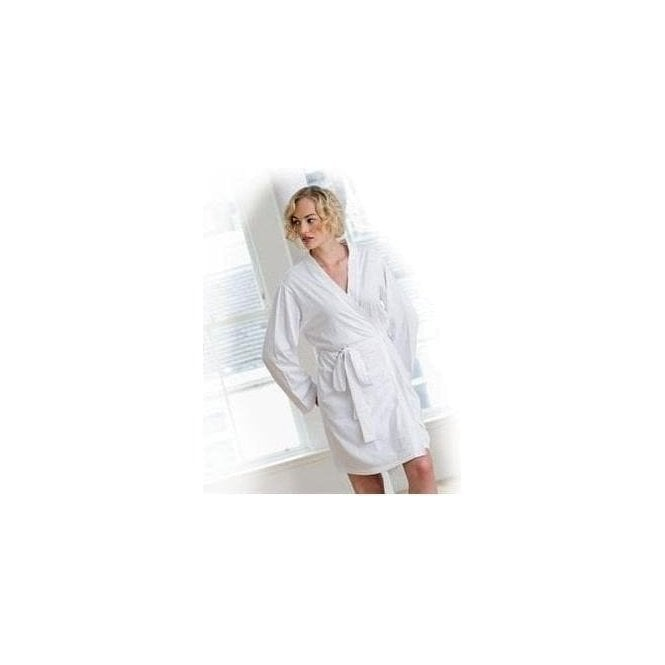 TowelCity Women's wrap robe