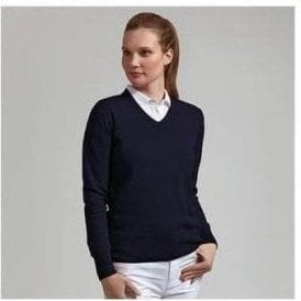V-neck cotton sweater (LKC2387VN)