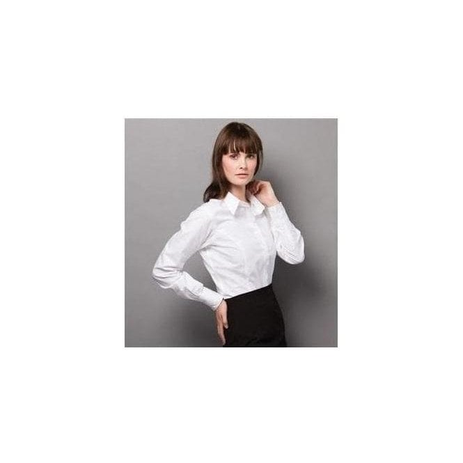 Kustom Kit Women's city business blouse long sleeve