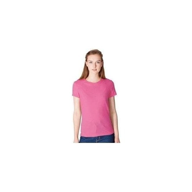American Apparel Women's fine jersey short sleeve T (2102)