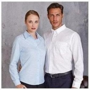 Women's long sleeve Easycare Oxford