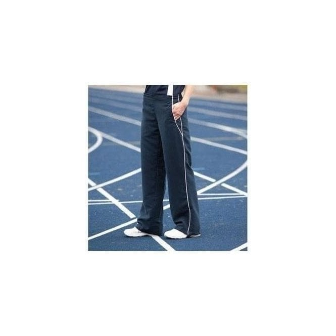 Tombo Women's open hem lined tracksuit bottoms