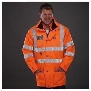 High visibility multi-functional 7-in-1 jacket (HVP711)